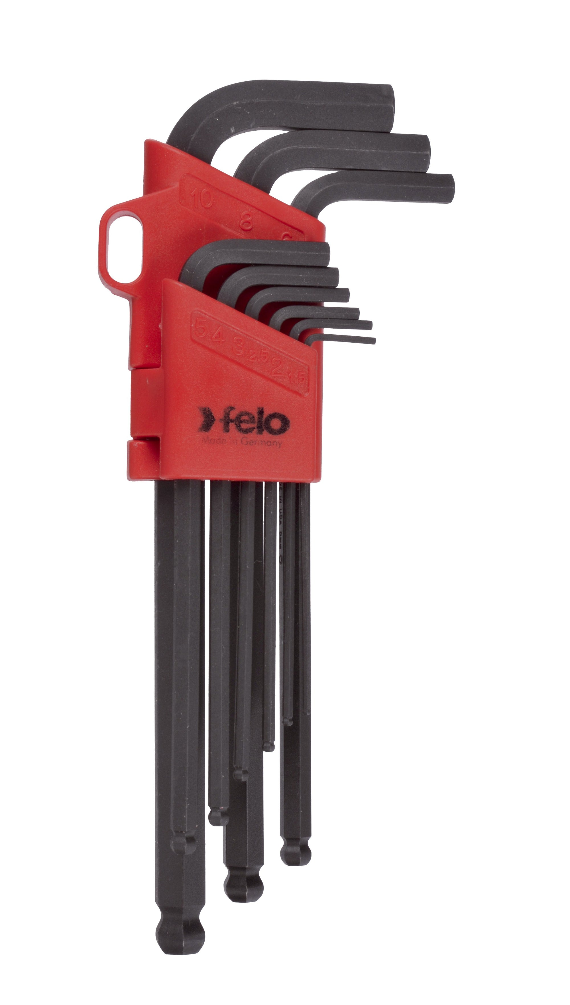 Felo BLX9 Ballpoint Hex Key Set 9pc 1.5-10mm