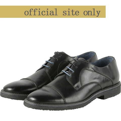 Milano Derby Shoes (Black)