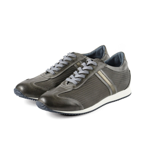 Torino Lace-Up Sneakers (Coal)