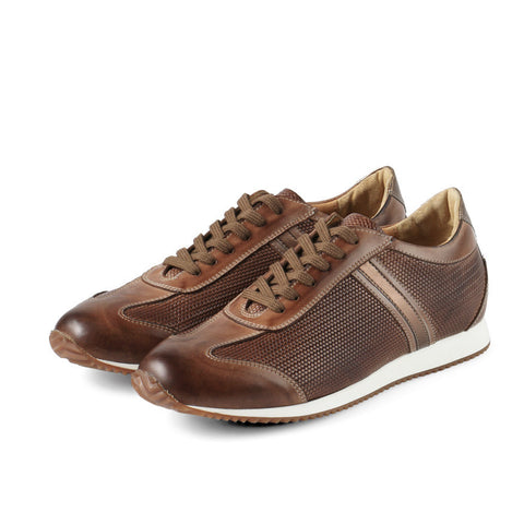 Torino Lace-Up Sneakers (Luggage)