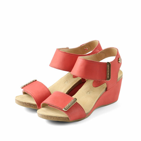 La Habana Wedge Sandals (Grenadine)