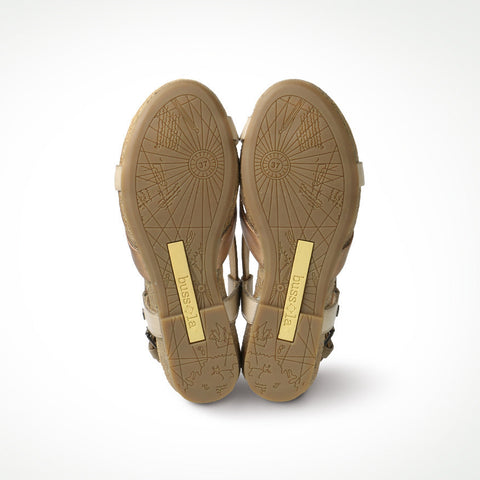 Maynila Flip-Flops Cross Strap Sandals (Aloe)