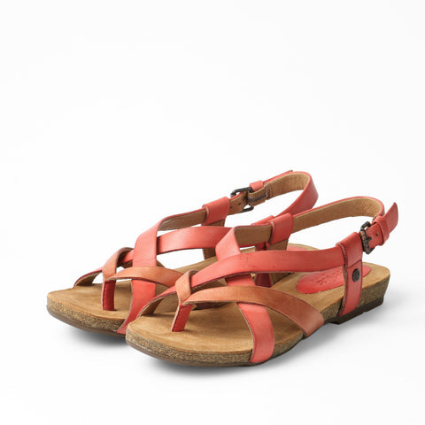 Maynila Flip-Flops Cross Strap Sandals (Grenadine)