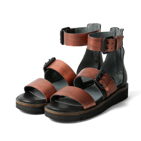 Nashville Gladiator Buckles Sandals (Antic Copper)