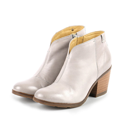 Reikiavik Ankle Booties (Light Grey)
