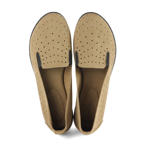 Coimbra Punched Slip-On (Miele)