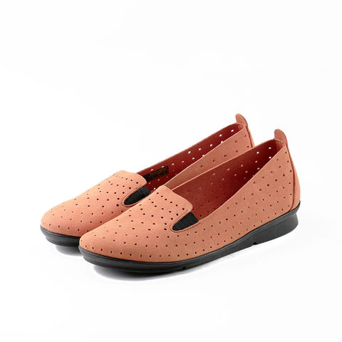 Coimbra Punched Slip-On (Arancia)