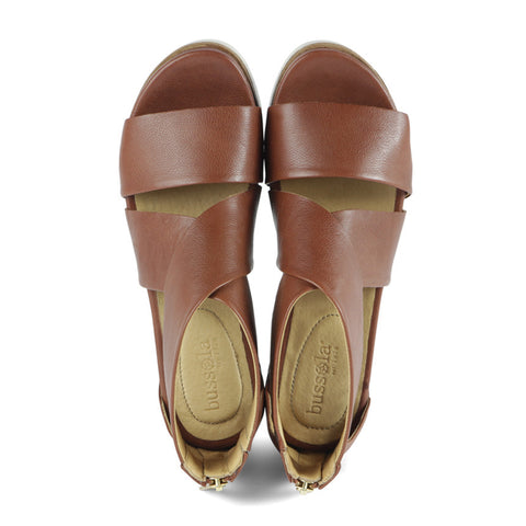 Potsdam Wide Straps Sandals (Brandy)