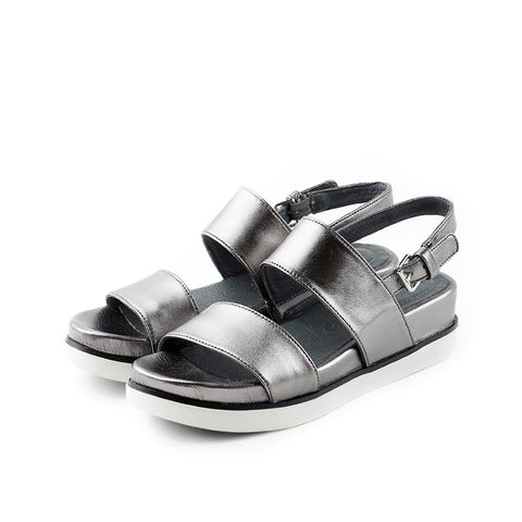 Potsdam Slingback Sandals (Pewter)