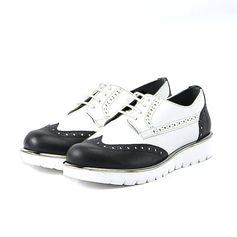 Liverpool Platform Oxford (Black/White)