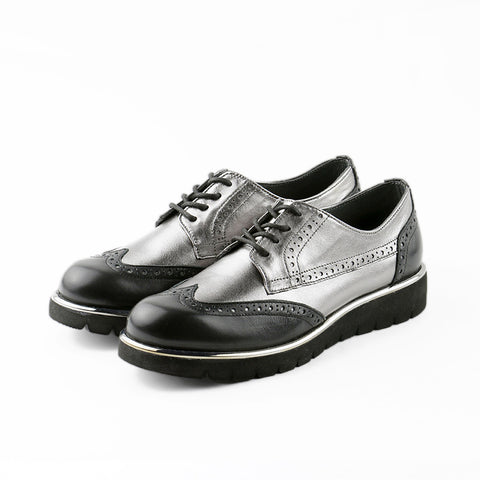 Liverpool Platform Oxford (Black/Pewter)