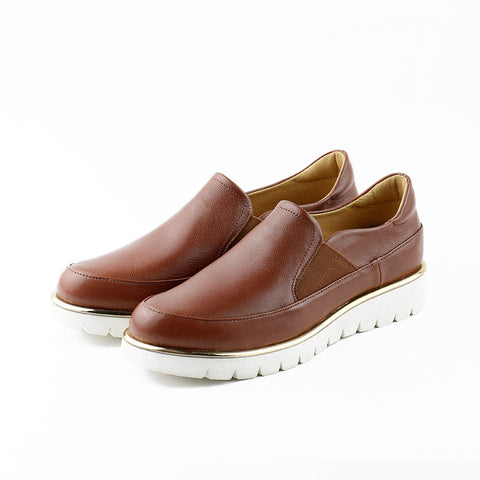 PRE-ORDER: Liverpool Slip-On Shoes (Brandy)