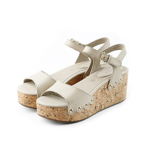Mansfield Platform Wedges (Doeskin)