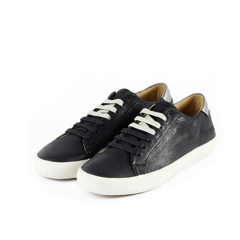 Cardiff Lace-Up Sneakers (Black)