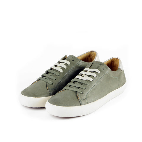 Cardiff Lace-Up Sneakers (Sage)