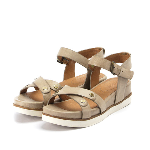 Potsdam Ankle Strap Sandals (Cloud)