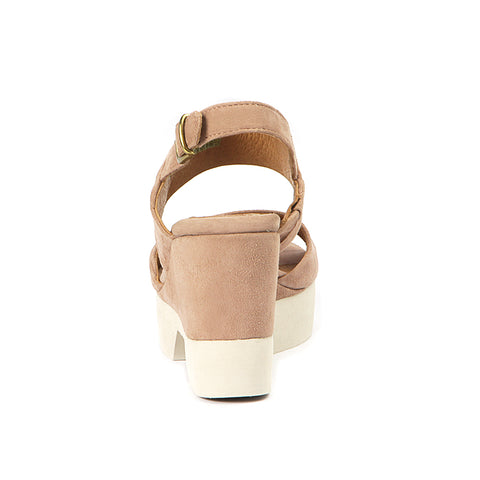 Perugia Slingback Sandals (Blush)