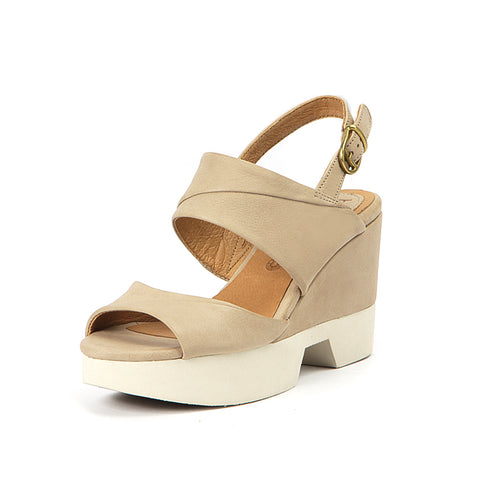 Perugia Slingback Sandals (Cloud)