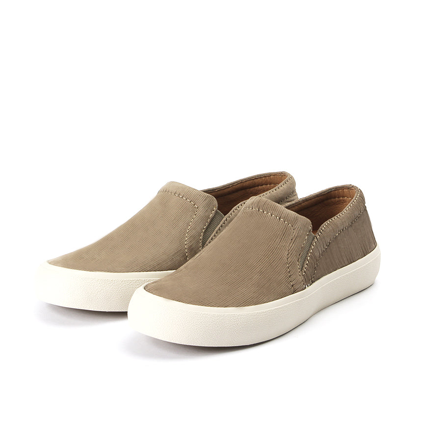 bbaa53102b6d3 Cardiff Slip-On Sneakers (Taupe)