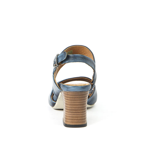 Martinique Slingback Sandals (Indigo)
