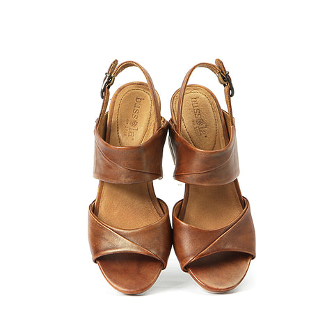 Martinique Slingback Sandals (Camel)