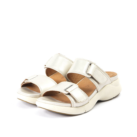 Jamaica Velcro Sandals (Oyster)