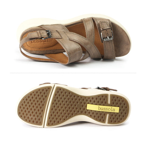 Jamaica Slingback Straps Sandals (Taupe)