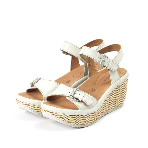 Trinidad Ankle Straps Wedge Sandals (Paper)