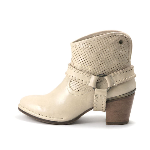 Woodville Western Ankle Boots (Doeskin)