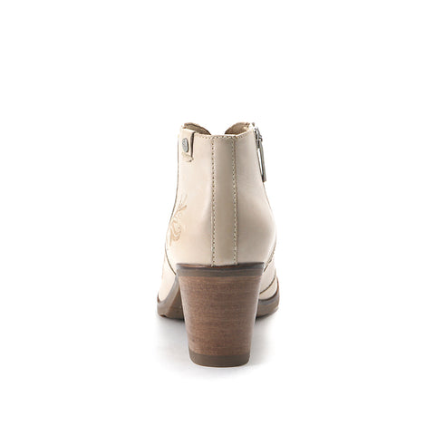 Reikiavik V-Neck Booties (Doeskin)