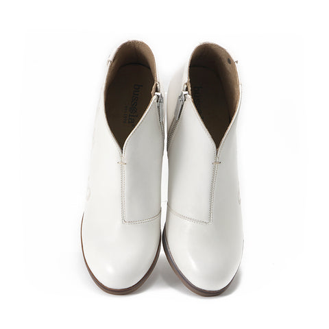 Reikiavik V-Neck Booties (Bone)