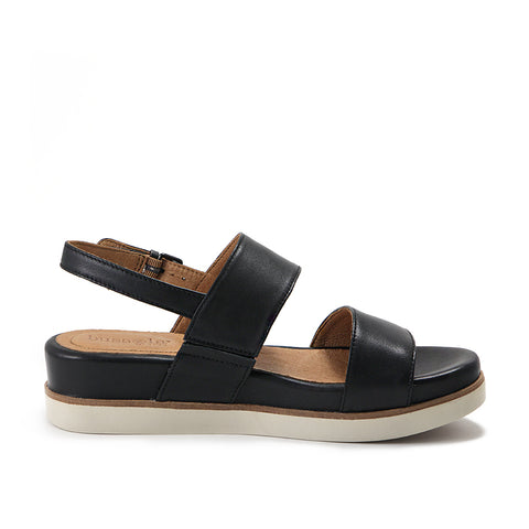 Potsdam Slingback Sandals (Black)