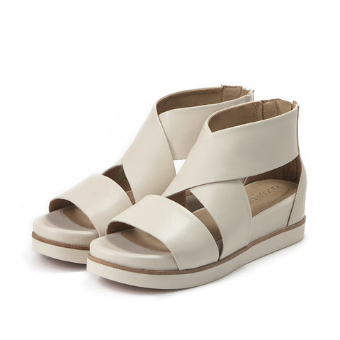 Potsdam Wide Straps Sandals (Doeskin)