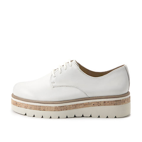 Le Mans Derby Shoes (Bone)