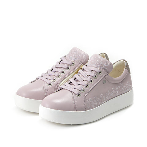 Lizzy Lace-Up Sneakers (Lilac)