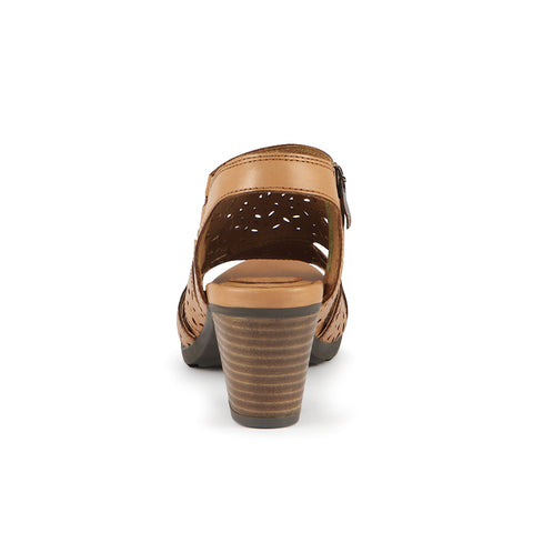 Final-Lima Perforated Sandals (Brandy)