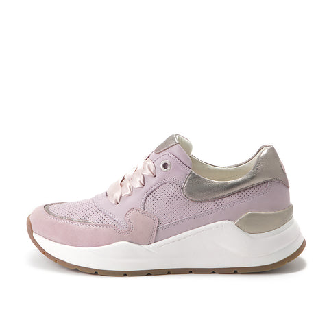 Josie Chunky Sneakers (Lilac/White Gold)