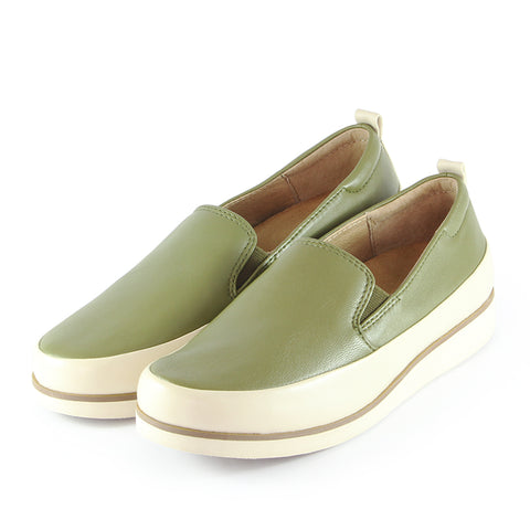 Koln Slip-On Shoes (Khaki)