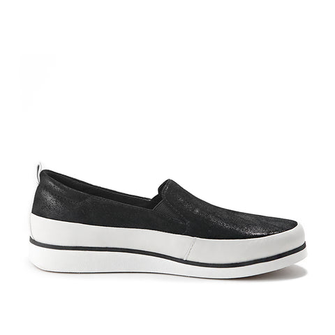 Koln Slip-On Shoes (Black)