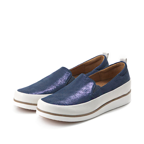Koln Slip-On Shoes (Denim)