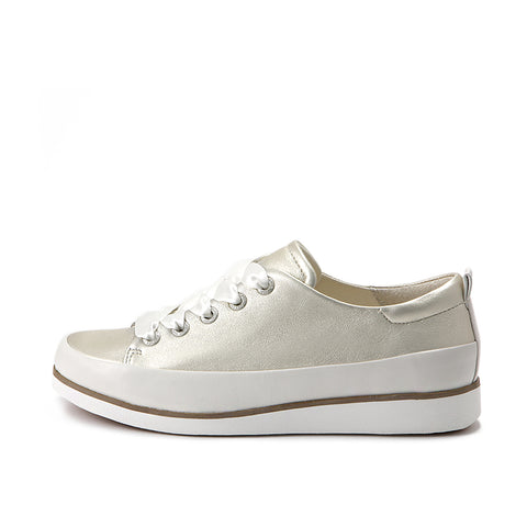 Koln Lace-Up Shoes (Pearl)