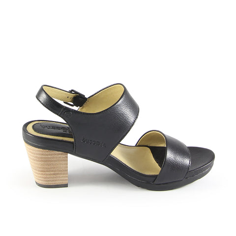 Lima Asymmetry Slingback Sandals (Nero)