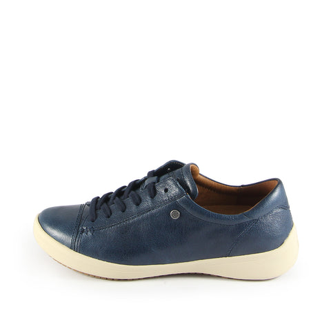 Lecce Lace-Up Sneakers  (Marine)