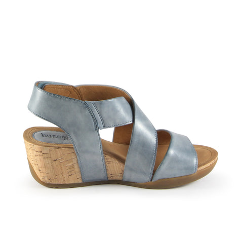 Nice Straps Wedge Sandals (Jeans)