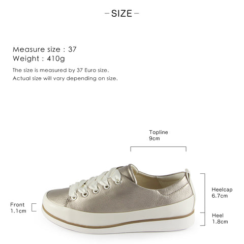 Koln Lace-Up Shoes (Silver)