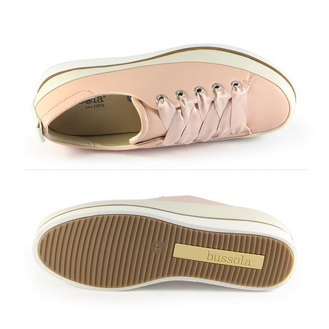 Koln Lace-Up Shoes (Satin)