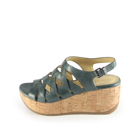 Ibiza Cage Wedge Sandals (Lead)