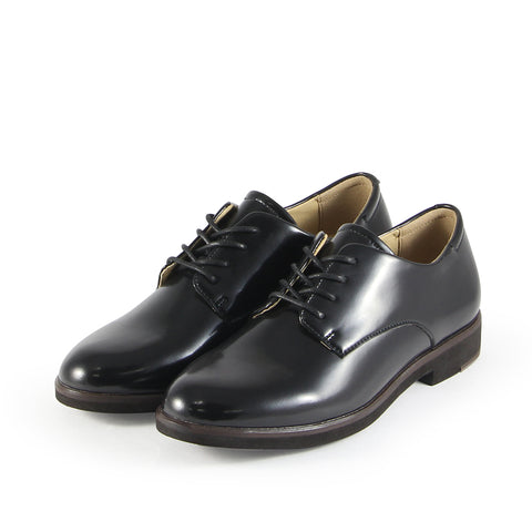 Napoli Derby Shoes (Micro Box Nero)