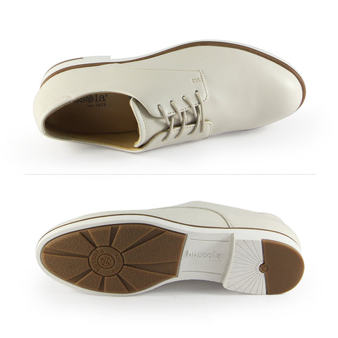 Napoli Derby Shoes (Bone)