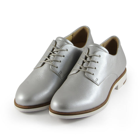Napoli Derby Shoes (Silver)